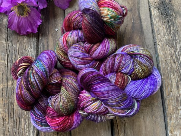 Butterfly BFL-Yarn-Dream in Color-Out Beyond-The Sated Sheep