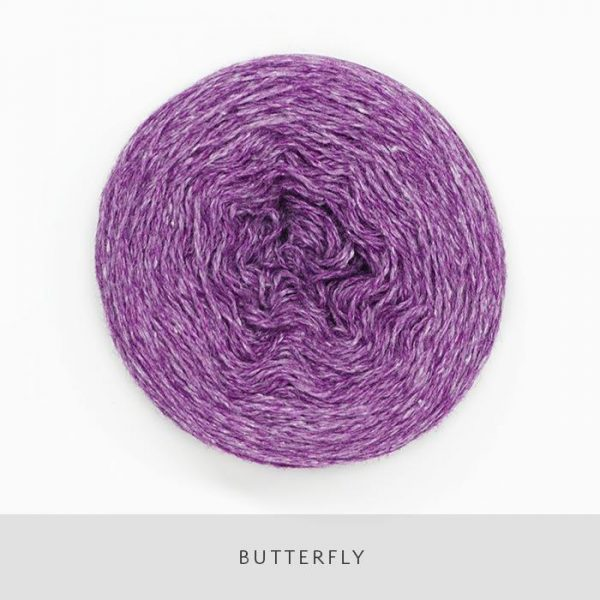 Coast Fingering-Yarn-Holst Garn-Butterfly-The Sated Sheep