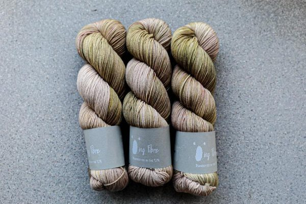 Qing Fingering-Yarn-Qing-Dew-The Sated Sheep