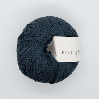 KFO Pure Silk-Yarn-Knitting for Olive-Deep Petroleum-The Sated Sheep